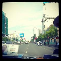 บรรยากาศเมืองโฮจิมิน กำลังมุ่งหน้าไป airport บินกลับ กทม. ล่ะ #PomVN