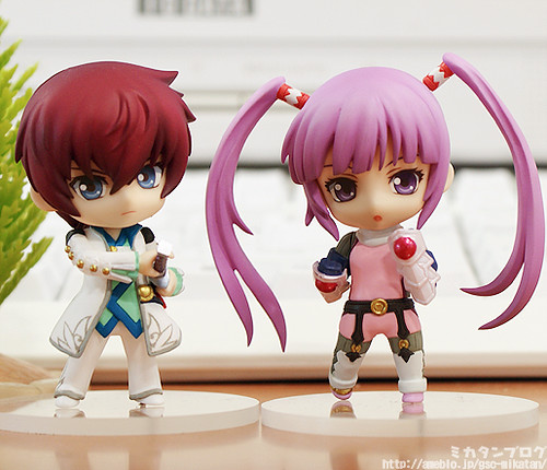 Asbel Lhant and Sophie (Tales of Graces)