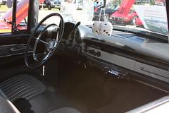 1956 Meteor Rideau interior