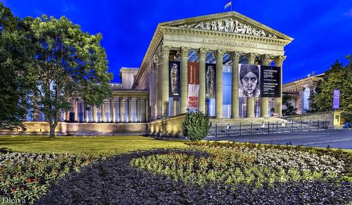 Museo de Bellas Artes (Plaza de los Heroes, Budapest)