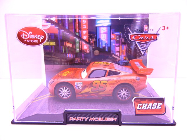 disney store cars 2 chase party mcqueen