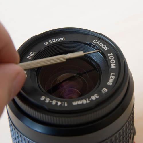 objetivo canon modificado para macrofotografia