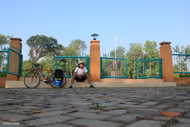 Me & My Bicycle in Monumen Gubernur Soerjo Complex