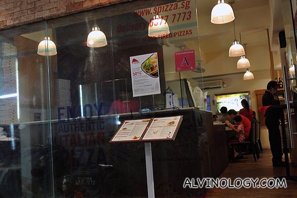 Spizza at Jalan Kayu