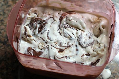 swirl in the nutella