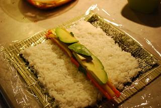 Vegan Sushi Roll 4