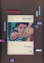 Alfred Hayes, Un amore, Einaudi, Torino 1957; i coralli 84. Copertina