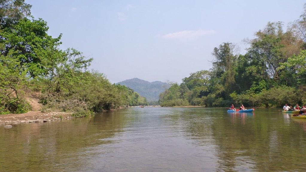 Kayaking - Vang Vieng, Laos-2
