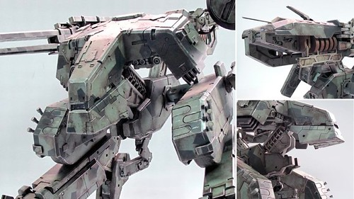 ThreeA Toys MG 1-48 METAL GEAR REX (7)