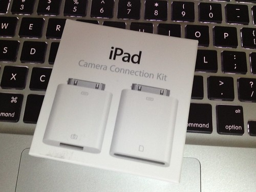 iPad camera connection kit by Kansir