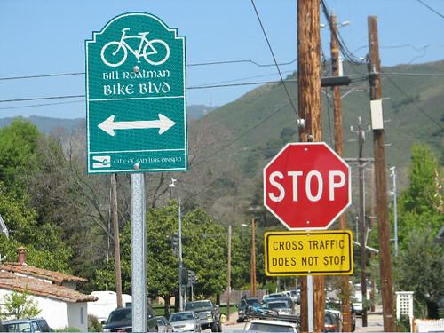 Bike Boulevard Signage