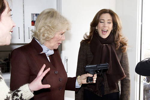 Duchess of Cornwall and Princess Mary