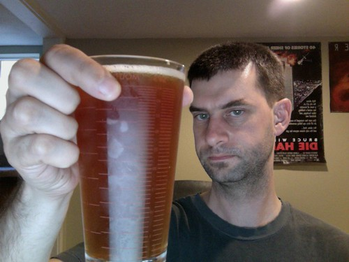 Red ale, made with Dad
