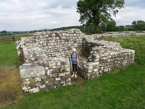 The eastern gatehouse, Birdoswald Fort