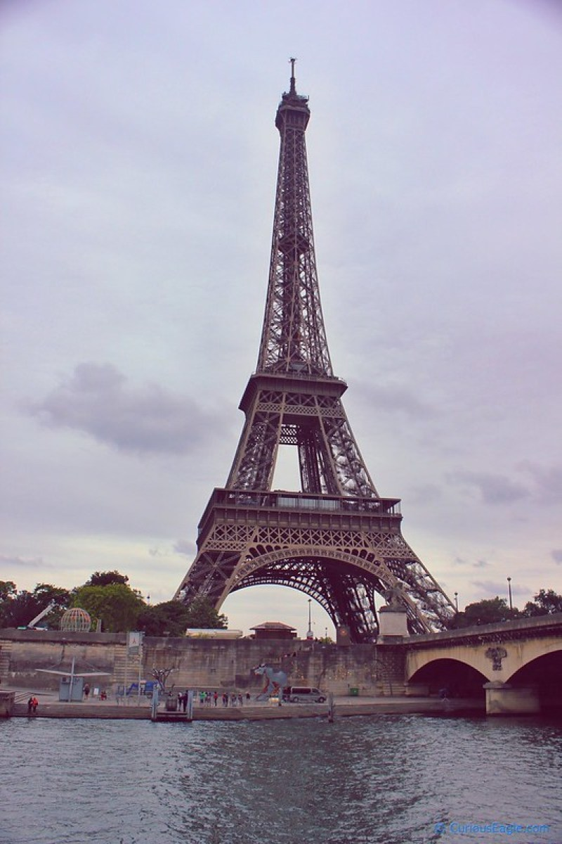 Majestic Eiffel as seen from the cruise boat