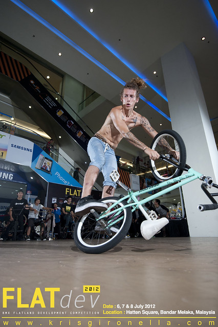 Jean-William P. - Won 2nd Place on BMX Flatland Pro Division