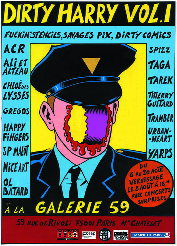 Exposition Dirty Harry Vol. 1 au 59 Rivoli by Pegasus & Co