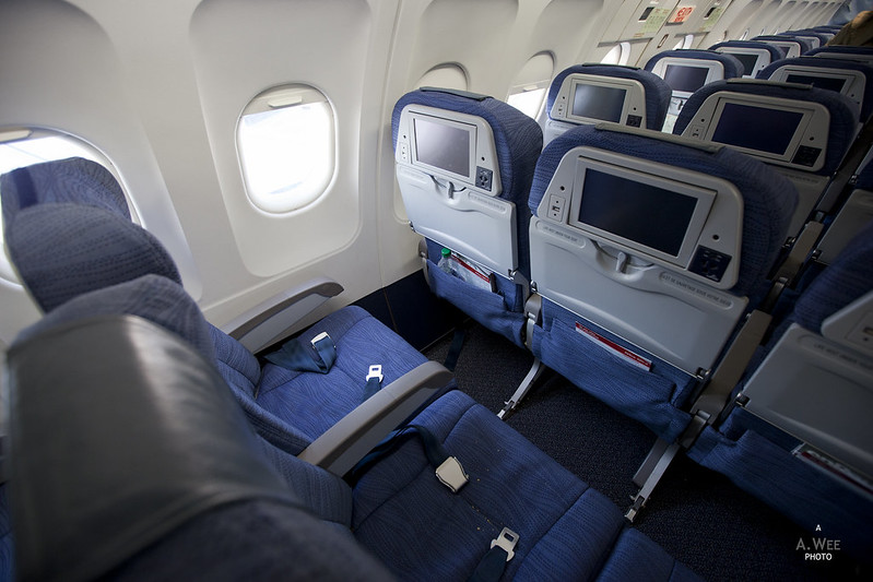 Air Canada Jetz Cabin
