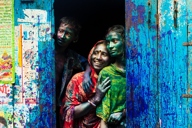 A Slice Of Life - 35 Colorful Collection of Holi Photos