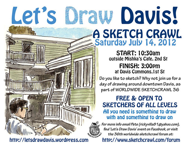 let's draw davis july 2012