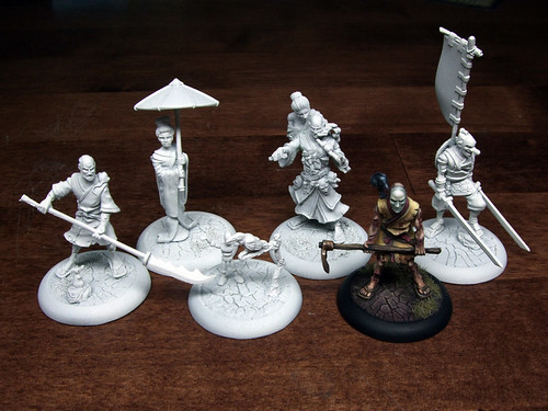Cult of Yurei Starter Miniatures WIP