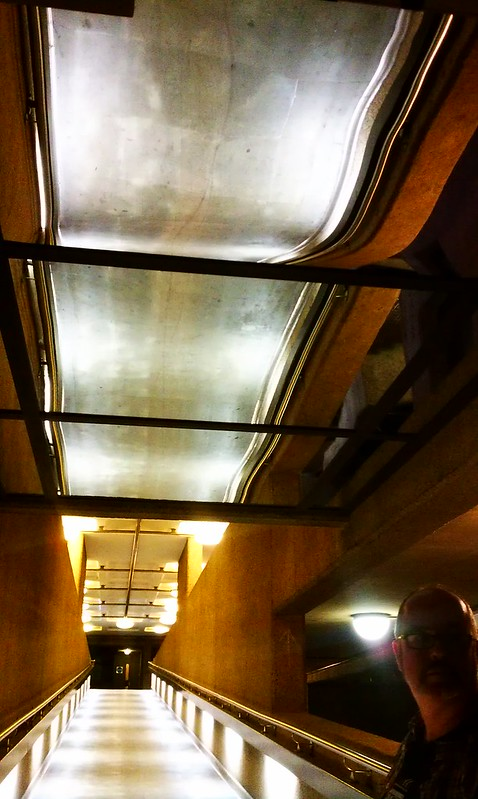 Interior architecture and lighting at The Barbican Centre, London