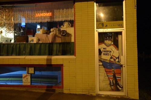 We Sharpen Skates, Campbellton, New Brunswick