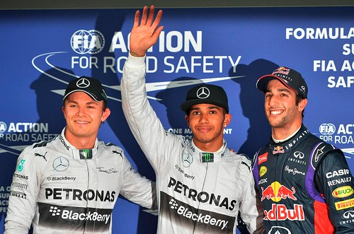 Nico-Rosberg,-poleman-Lewis-Hamilton-y-Daniel-Ricciardo.-F1-World-Championship,-GP-de-Australia,-Clasificacion by saltez