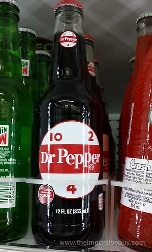 Dr. Pepper Retro Glass