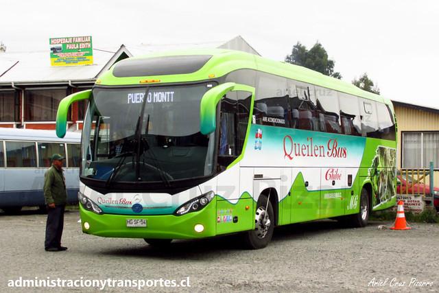 Queilen Bus (103) - Castro (Chiloé) - Mascarello Roma 350 / Mercedes Benz (HGSF54)