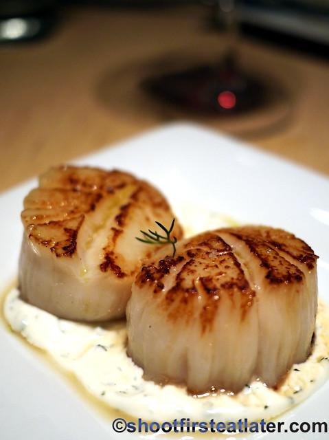sea scallops $12
