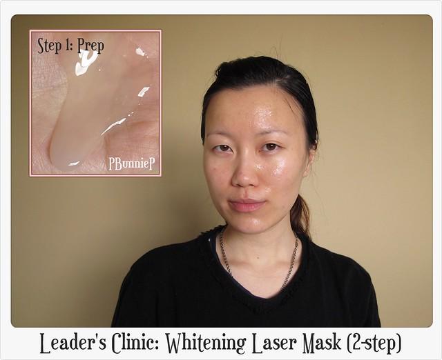 Leader's Clinic Whitening Laser Mask 04