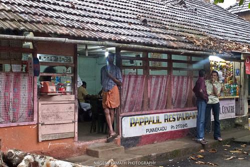 Pappalil Restaurant at Punnekadu near Thattekad