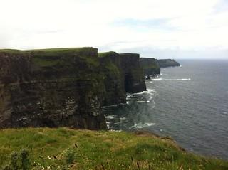 Los acantilados de Moher en Irlanda