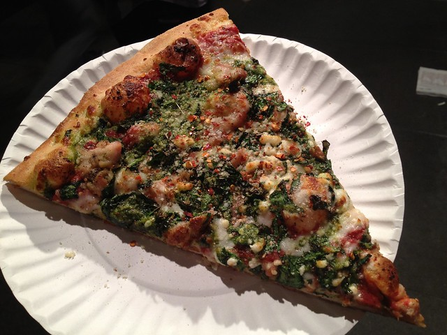Castro Special slice - Nizario's Pizza