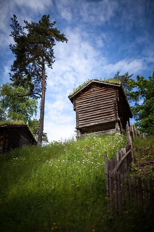 Besøk på Norsk Folkemuseum #1