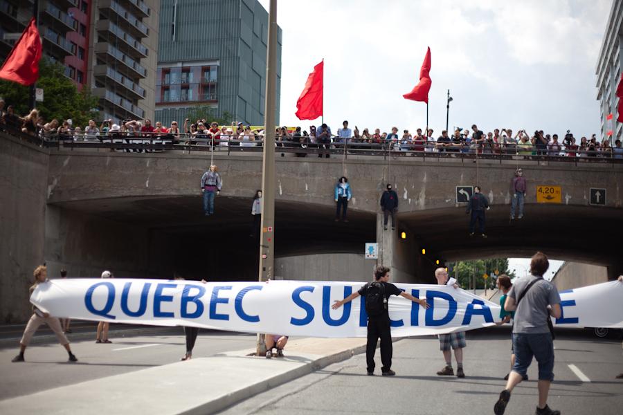 Manifestation nationale de la CLASSE : le 22 juillet, les néolibéraux… DEHORS ! [photos Thien V]