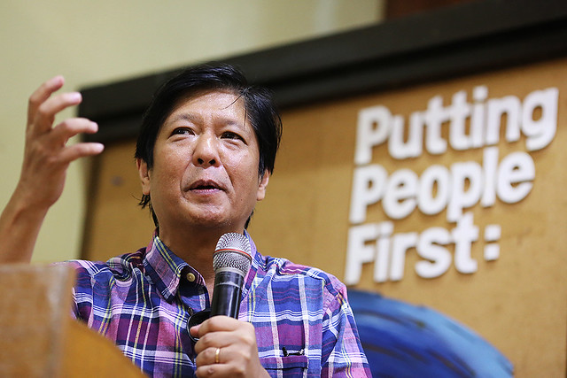 Bongbong in checks