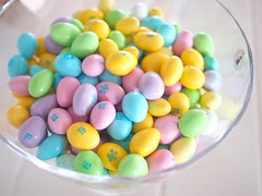 Pastel Coloured Easter Almond M&Ms