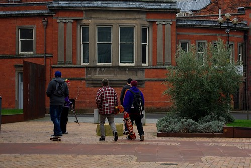 20120129-57_Moving off - Skate Boarders_Coventry Cathedral Area by gary.hadden