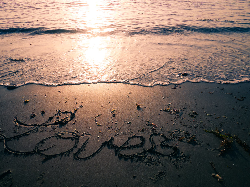 Message from the waves