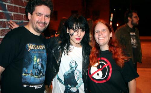20110917 - Atari Teenage Riot @ 930 Club - 0 - Clint, Nic Endo, Carolyn - (by AE) - 6304220437_b4cf79874f_b