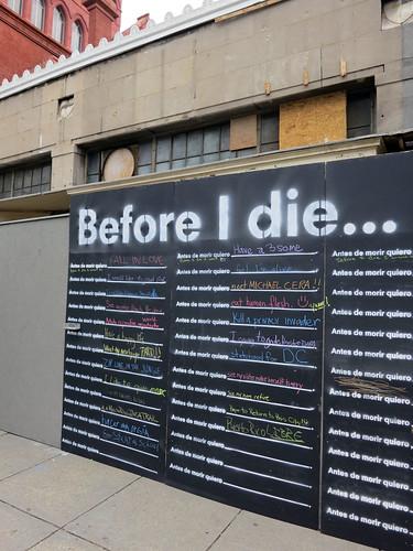 Antes de morir yo quiero... by Daquella manera