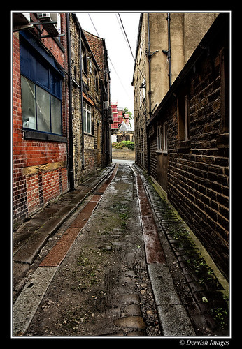 Huddersfield Alleyway by Dervish Images