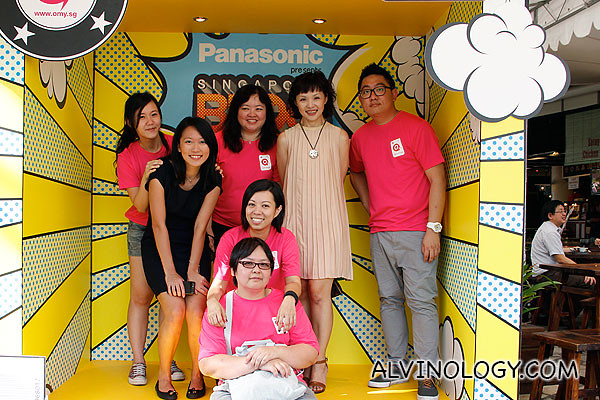 The omy.sg organising team behind the Singapore Blog Awards 2012