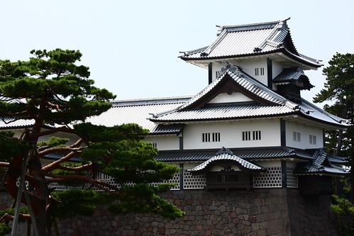 Kanazawa castle turret