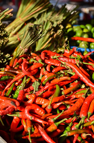 Chilies & Lemongrass at the Morning Market
