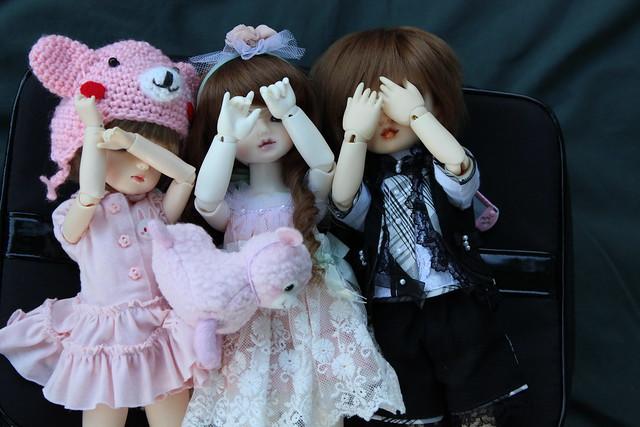 Delilah, Lareine and Sora