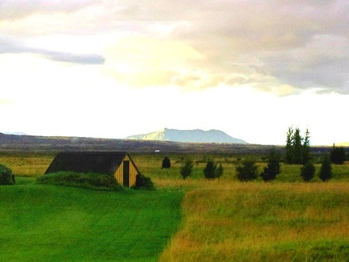 Farmland near the Hekla Volcano, Iceland by Christopher OKeefe