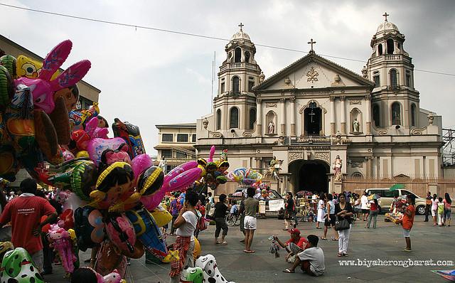Quiapo Church in Manila Black Nazarene